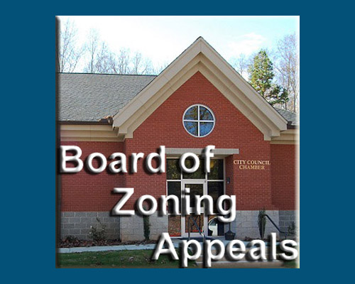 Board of Zoning Appeals Meeting
